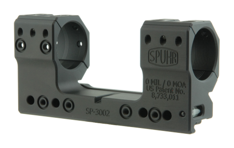 Spuhr ISMS Optic Mount, High, 30mm, 0 MOA