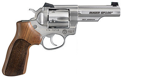 "Ruger Revolver GP100 Match Champion, 4.20"" Barrel, Stainless, 357 MAG"