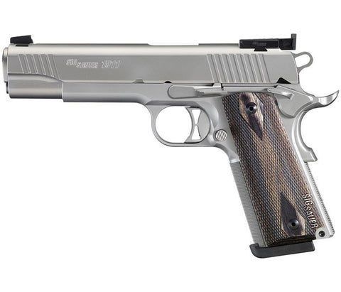 "Sig Sauer 1911 Traditional Elite Match, 5.00"" Barrel, Stainless, 9mm"