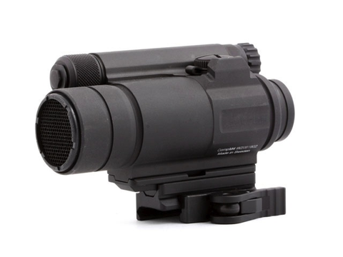 American Defense Aimpoint CompM4 Mount, Co-Witness Spacer & B2 Base, Black