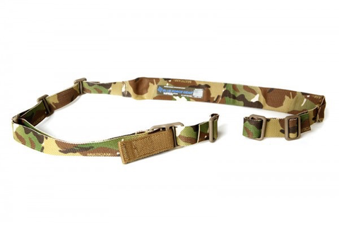 "Blue Force Gear, Vickers VCAS Sling, 2.00"" Metal Hardware, MultiCam Arid"