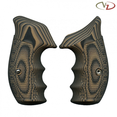 VZ Grips Smith & Wesson K/L Frame, Tactical Diamond, Hyena Brown