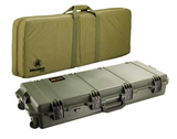 Pelican Storm Case 3200, Mobile Military Field Pack, OD Green & Coyote