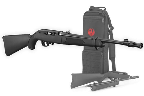 "Ruger 10/22 Takedown, 16.00"" Barrel, Black Synthetic, 22LR"