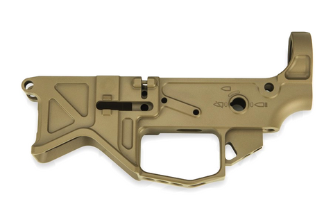 Battle Arms Development, Lightweight 7075-T6 Billet Lower Receiver, Flat Dark Earth
