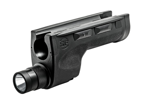 SureFire Mossberg 500/590 Forend, 600 Lumens High, 200 Lumens Low, Black