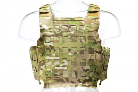 Blue Force Gear, PLATEminus V2 Armor Carrier, Multi-Cam, X-Large, 11x14 Front/Back, 6x6 Side