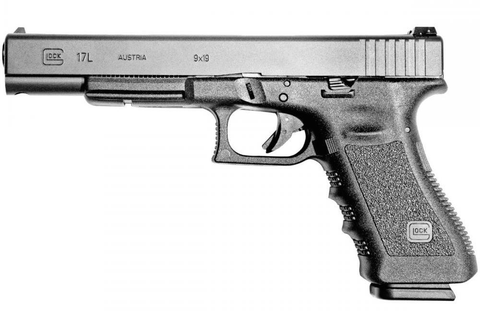 "Glock 17L Gen3, 6.02"" Barrel, 9mm, Black"