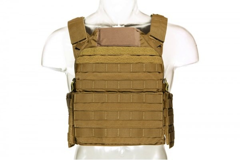 Blue Force Gear, LMAC Armor Carrier, Coyote Brown, Large, 11x14 Front/Back, 6x8 Side