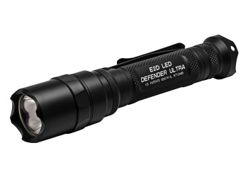 SureFire E2D Defender, 1000 Lumens High, 5 Lumens Low, Black