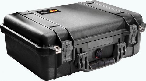 Pelican Case 1500 Black w/Foam