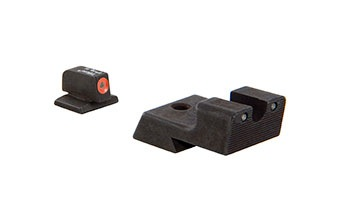 Trijicon HD Night Sight, 1911 Novak Cut, Orange