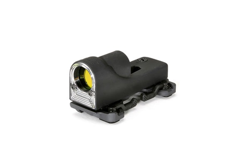 Trijicon Reflex Sight 1x24, 12.9 MOA Amber Triangle, w/ARMS Throw Lever Mount