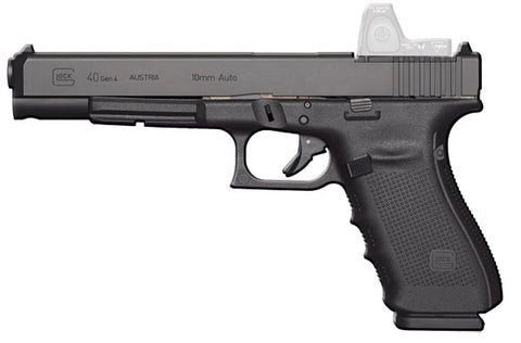"Glock 40 Gen4 MOS, 6.02"" Barrel, 10mm, Black"