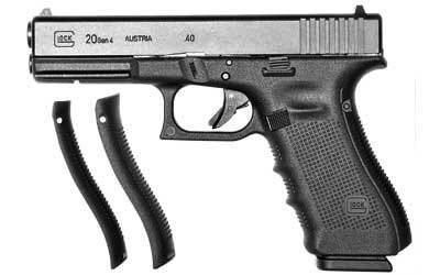 "Glock 20 Gen4, 4.60"" Barrel, 10mm, Black"