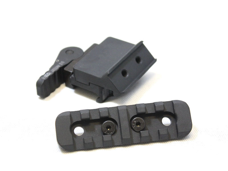 "American Defense 45 Degree Offset Mount, 3.00"" Rail, Black"