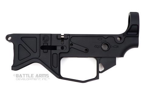 Battle Arms Development, Lightweight 7075-T6 Billet Lower Receiver, Black
