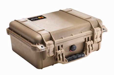 Pelican Case 1450 Tan w/Foam