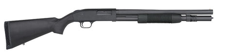 "Mossberg 590 Security, 18.50"" Barrel, Bead Sight, 7RD Magazine, 12GA"