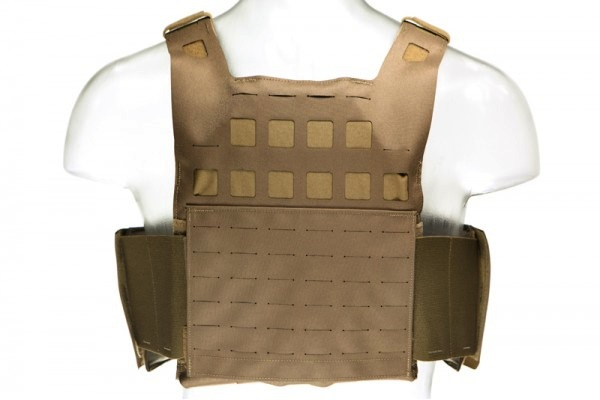 Blue Force Gear, PLATEminus V2 Armor Carrier, Coyote Brown, Medium, 10x12 Front/Back, 6x6 Side