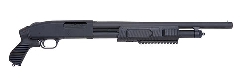 "Mossberg 500 JIC Just In Case Flex, 18.50"" Barrel, Pistol Grip, 12GA"