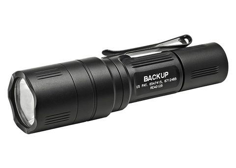 SureFire EB1 Backup, 200 Lumens, Dual-Output LED, Black