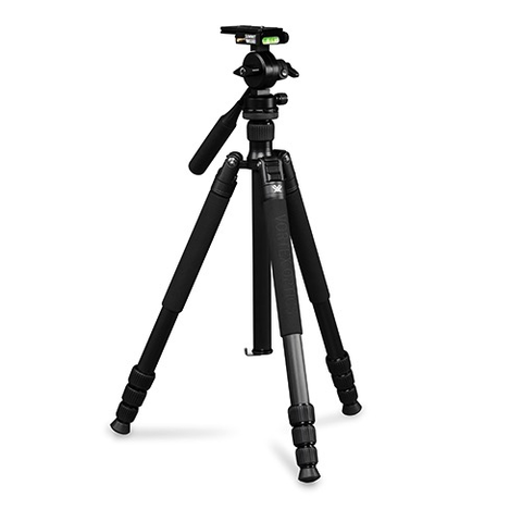 Vortex Optics, Summit Carbon Tripod Kit, Micro-Fluid Head