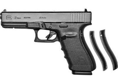"Glock 21 Gen4, 4.60"" Barrel, 45 ACP, Black"