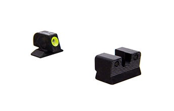 Trijicon HD Night Sight, Beretta 90-TWO, Yellow