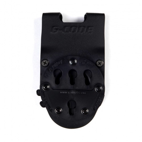 G-Code Holsters, RTI Optimal Drop Pistol Platform, Black