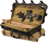 Pelican Storm Case 3300, Mobile Military Soft Rifle Case Insert, Coyote