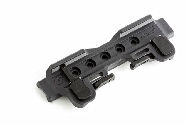 ARMS ACOG Channel Throw Lever Mount
