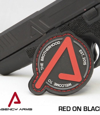 Agency Arms, Brotherhood Patch, Red