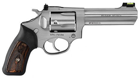 "Ruger Revolver SP101, 4.20"" Barrel, Stainless, 357 MAG"
