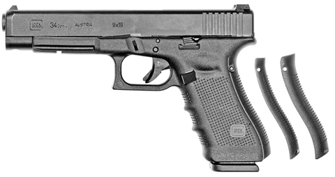 "Glock 34 Gen4, 5.31"" Barrel, 9mm, Black"