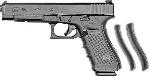 "Glock 35 Gen4, 5.31"" Barrel, 40S&W, Black"