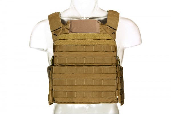 Blue Force Gear, LMAC Armor Carrier, Coyote Brown, Medium, 10x12 Front/Back, 6x8 Side