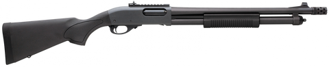 "Remington 870 Express Tactical, 18.50"" Barrel, 2 Shot Extension, Ghost Ring Sights, 12 GA"
