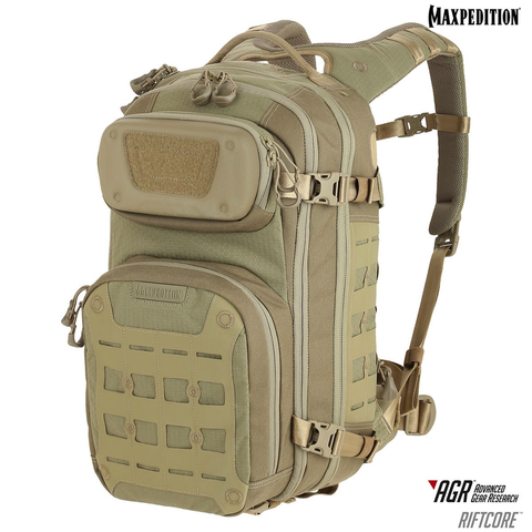 Maxpedition AGR Advanced Gear Research, RIFTCORE Backpack, Tan