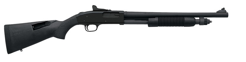 "Mossberg 590A1, 18.50"" Barrel, Ghost Ring Sights, 6RD Magazine, 12GA"