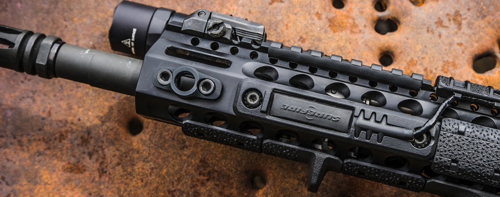 Magpul M-LOK, Tape Switch Mounting Plate, Surefire ST