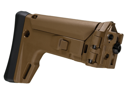 Bushmaster ACR Folding Stock, Coyote Brown