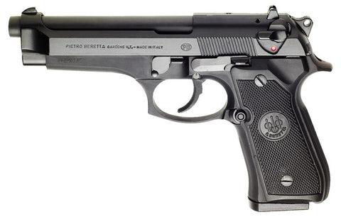 "Beretta 92FS, 4.90"" Barrel, Black, 9mm"