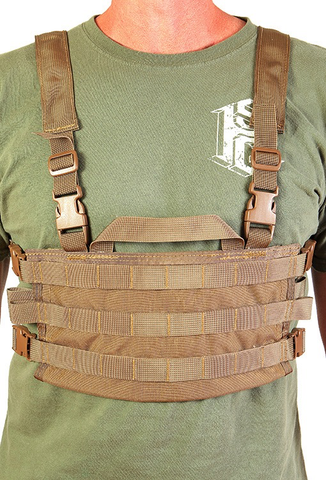 High Speed Gear, AO Small Chest Rig, Coyote Brown