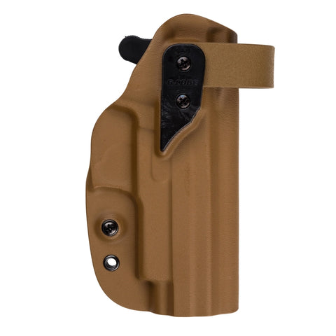 G-Code Holsters, XST RTI Kydex Holster, Glock 17/22, Coyote Tan, RH