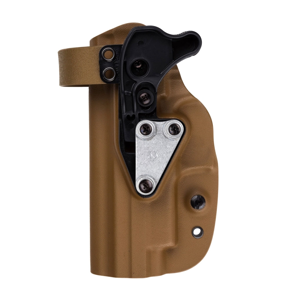 G-Code Holsters, XST RTI Kydex Holster, Smith & Wesson M&P9/40, Coyote Tan, RH