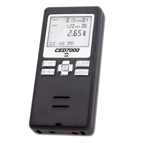 Competitive Edge Dynamics Ced 7000 Shot Timer Red Deer