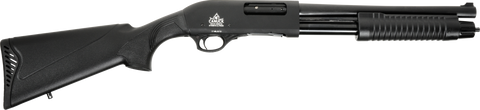 "Canuck Regulator Shotgun, Synthetic Pistol Grip & Stock, 14.00"" Barrel, 12GA"