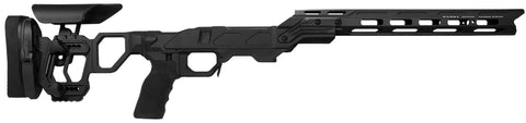 Cadex Defence, Field Competition Chassis, Skeletonized Stock, Rem700, Short Action, Right Hand, Black