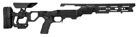 Cadex Defence, Field Tactical Chassis, Skeleton Stock, Rem700, Short Action, Right Hand, Black